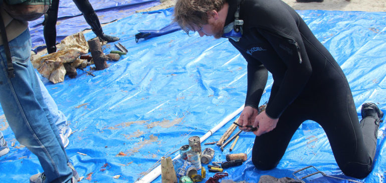 Avalon's 36th Annual Underwater Cleanup