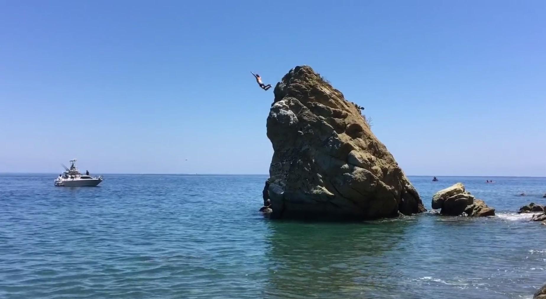 Frog Rock Catalina Island