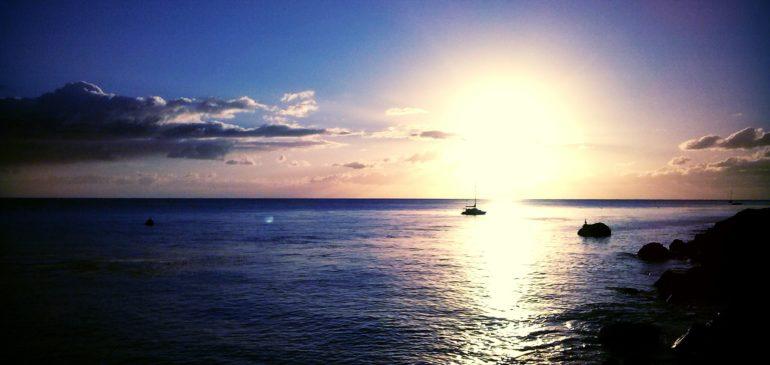 Sunrise over Catalina