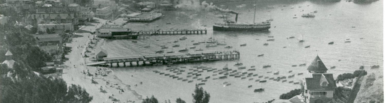75.120.74, Avalon Bay, Looking North, 1910